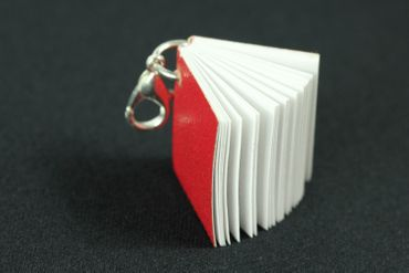 Book Books Charm For Bracelet Wristlet Dangle Charms Miniblings Reading Writer Author Red