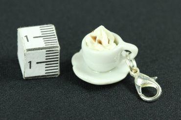 Cocoa Hot Chocolate Cup Charm Zipper Pull Pendant For Bracelet  Wristlet Miniblings – Bild 5