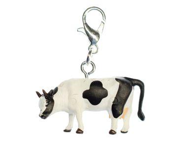 Kuh Kühe Bauernhof Charm Zipper Pull Anhänger Bettelanhänger Miniblings Kalb