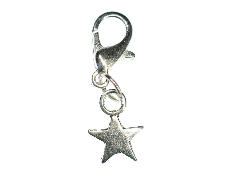 Stern Charm Anhänger Bettelarmband Miniblings Sterne Star ...