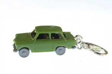 Trabant Car Trabi Trabant GDR East Germany Car Cult Retro Vintage GDR East Germany DDR Charm Pendant For Bracelet Wristlet Miniblings Green
