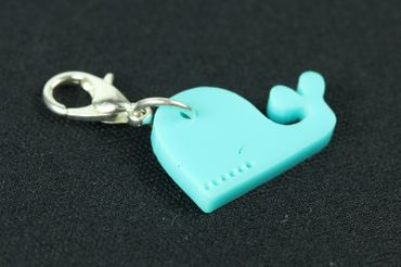 Whale Charm For Bracelet Wristlet Dangle Charms Miniblings Ocean Fish Acrylic – Bild 2