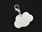 Wolke Charm Anhänger Bettelarmband Miniblings Charms Wolken Cloud Acrylglas 001