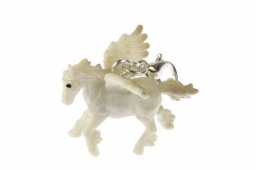 Pegasus Charm Anhänger Miniblings Armband Bettelarmband geflügeltes Pferd