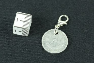 1 GDR East Germany DDR Pfennig German Germany Penny Charm Bracelet Wristlet Pendant Miniblings Coin Wall Latest – Bild 4