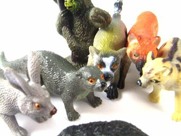 34X Wildlife Set Wild Animals Animal Figure Figures Figuriness Figurines Miniblings Toy Toys – Bild 8