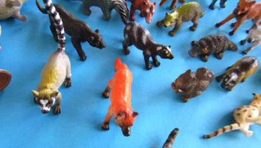 34X Wildlife Set Wild Animals Animal Figure Figures Figuriness Figurines Miniblings Toy Toys – Bild 7