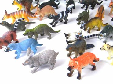 34X Wildlife Set Wild Animals Animal Figure Figures Figuriness Figurines Miniblings Toy Toys – Bild 5