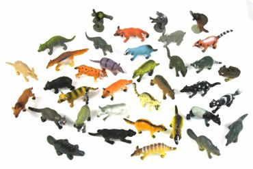 34X Wildlife Set Wild Animals Animal Figure Figures Figuriness Figurines Miniblings Toy Toys – Bild 2
