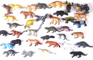 34X Wildlife Set Wild Animals Animal Figure Figures Figuriness Figurines Miniblings Toy Toys – Bild 6