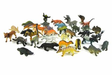 34X Wildlife Set Wild Animals Animal Figure Figures Figuriness Figurines Miniblings Toy Toys – Bild 3