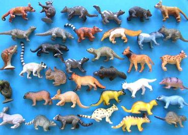 34X Wildlife Set Wild Animals Animal Figure Figures Figuriness Figurines Miniblings Toy Toys – Bild 9