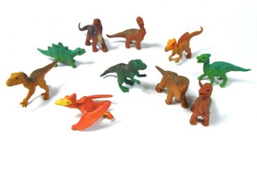 10X Dinosaur Lizards Animal Figure Figures Figuriness Figurines Miniblings Dinosaurs Prehistoric – Bild 1