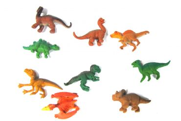 10X Dinosaur Lizards Animal Figure Figures Figuriness Figurines Miniblings Dinosaurs Prehistoric – Bild 3