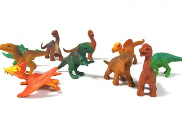 10X Dinosaur Lizards Animal Figure Figures Figuriness Figurines Miniblings Dinosaurs Prehistoric – Bild 4