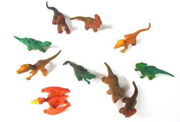 10X Dinosaur Lizards Animal Figure Figures Figuriness Figurines Miniblings Dinosaurs Prehistoric – Bild 5