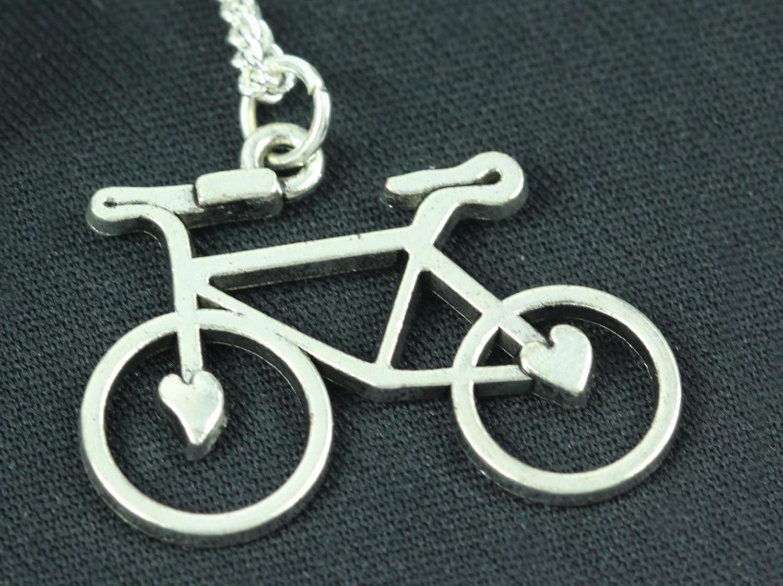 Fahrrad Kette Halskette Miniblings 45cm Rad Rennrad Fahrradkette