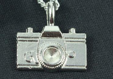 Kamera Kette Halskette Miniblings 45cm Fotoapparat Fotograf Fotos Foto Photo