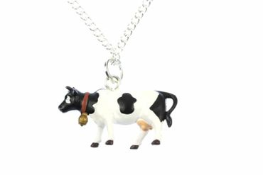 Cow Necklace Miniblings 45cm Cows Farm Animal Cow Calf – Bild 2