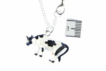 Cow Necklace Miniblings 45cm Cows Farm Animal Cow Calf – Bild 4