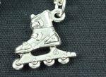 Roller skates Roller skates Kette Miniblings 45cm Inlineskates Rollschuhe silber