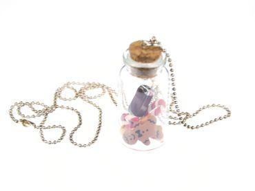 Candy Jar Christmas Cookie Necklace Miniblings Cookie Jar Biscuit Sweets Food – Bild 1