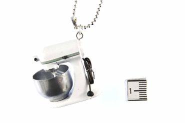 Kitchen Machine Necklace Miniblings 80cm Cooking Baking Blender Tool – Bild 3