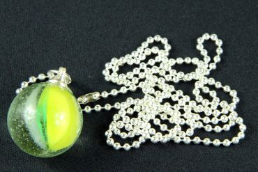 Marble Necklace Miniblings 80cm Toy Children Game Clicker Game Glass Ball Marbles L – Bild 1
