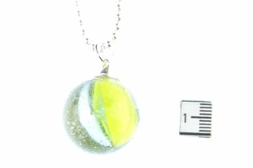 Marble Necklace Miniblings 80cm Toy Children Game Clicker Game Glass Ball Marbles L – Bild 3