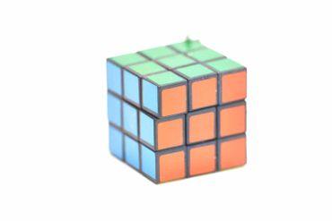 S Dice Cube Necklace Miniblings 80cm 80S Game Dice Cube Retro – Bild 4