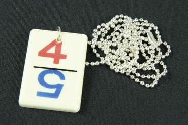 Rummy Rummikub Necklace Miniblings Retro Games Game Fun Colorful – Bild 1
