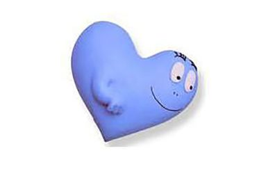 Barbapapa Barbapapas Magnet Fridge Magnets Cild Children Heart Love Love Blue