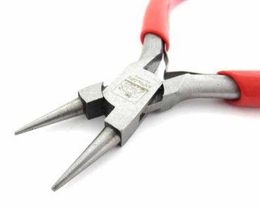 Round Pliers Jewelry Pliers Bending Pliers Miniblings 12cm Red – Bild 2