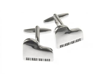 Grand Piano Piano Cuff Links Cufflinks Miniblings Buttons + Box Concert Pianist – Bild 4