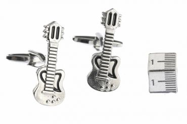 Guitar Cuff Links Cufflinks Miniblings + Box Musicians Guitarist Band Songwriter Singer Guitar Player – Bild 3