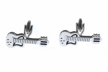 Guitar Cuff Links Cufflinks Miniblings + Box Musicians Guitarist Band Songwriter Singer Guitar Player – Bild 4