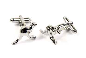 Kangaroo Cuff Links Cufflinks Miniblings Buttons + Box Australia Zoo Travel Sydney – Bild 4