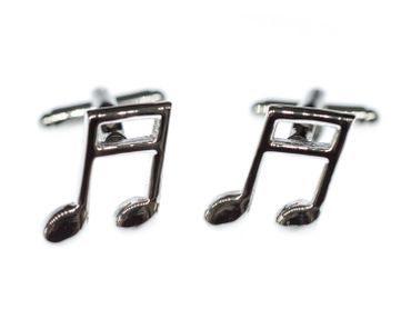 Notes Music Cuff Links Cufflinks Miniblings Buttons + Box Semiquaver Sixteenth 16Th Note Semiquaver – Bild 7