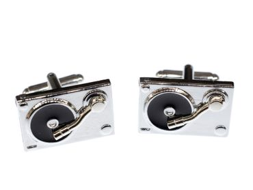 Turntable Cuff Links Cufflinks Miniblings Buttons With Box Turntables Dj Music Record Player Records – Bild 2