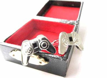Game Console Cuff Links Cufflinks Miniblings + Box Gamepad Joystick Computer Game – Bild 4