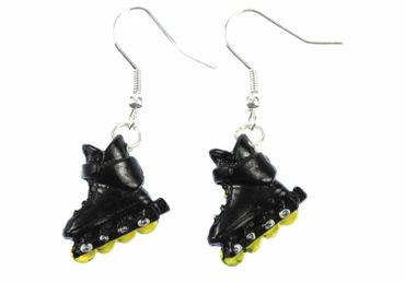 Inlineskates Ohrringe Roller skates Miniblings Skates Rollschuhe Skater schwz