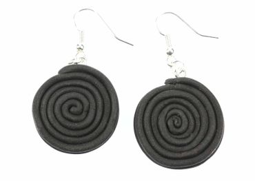 Liquorice Wheel Earrings Licorice Licorice Earrings Miniblings Candy – Bild 1