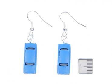 Trabi Trabant GDR East Germany DDR Germany German Car Cult Retro Vintage Car Earrings Miniblings Model 1 160 Blue – Bild 4