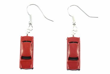 Trabi Trabant GDR East Germany DDR Germany German Car Cult Retro Vintage Car Earrings Miniblings Model 1 160 Red – Bild 2