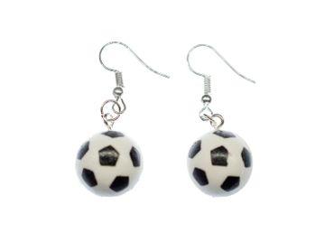 Fußball Ohrringe Fußballohrringe Fußbälle Miniblings WM Ball Kicken Bolzen Tor EM – Bild 4