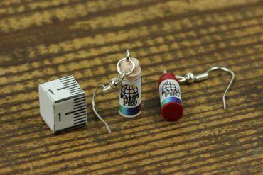 Spraydose Ohrringe Hänger Miniblings Dose Sprayer Farbdose Lack Graffiti Sprühen – Bild 5