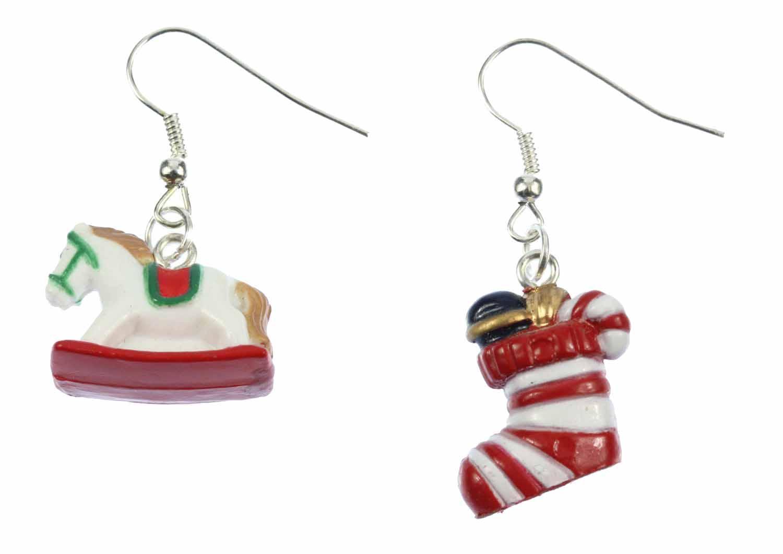 Weihnachten 2er Set Ohrringe Hänger Miniblings Nikolaussocken ...