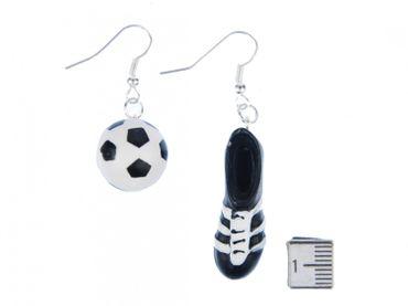 Fußball Fußballschuh Ohrringe Hänger Miniblings WM Schuhe Turnschuhe Kicker EM – Bild 2