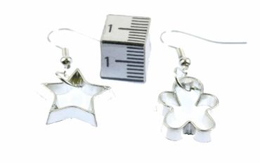 Ramekins Earrings Cookie Cutter Cookies Baking Christmas Star Gingerbread Man – Bild 3