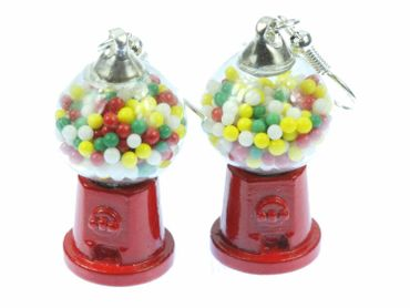 Gumball Machine Earrings Miniblings Chewing Gum Candy Machine – Bild 3